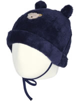 Steiff Hat with bear ears COSY BLUE patriot blue 1921327-6033