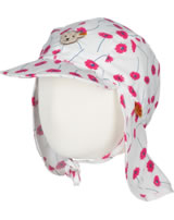 Steiff Hat with neck guard PARADISE PINK allover 6833300-0003