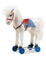 Steiff Olivia Pferd auf Raedern 43 cm Mohair Limited Edition 6814