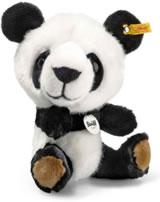 Steiff Panda Tom 22 cm weiß/schwarz sitzend 064845