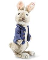 Steiff Peter Rabbit 20 cm Mohair graubraun/weiß stehend 355608