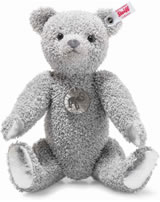 Steiff Platinum Paper Teddy bear 30 cm platinum grey 006999