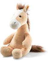Steiff Plüsch Pferd Hippity blond sitzend 38 cm 073595