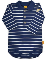 Steiff Polo-Body Langarm SHADES OF BLUE stripe 6842621-0001