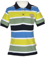 Steiff Polo-Shirt short sleeve SPORTY KIDS stripe 6913621-0001