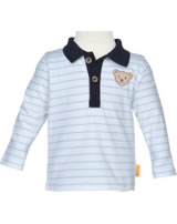 Steiff Shirt long sleeve BEAR BLUES winter sky 2011202-3023