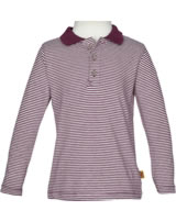 Steiff Polo shirt long sleeve LITTLE COWBOY burgundy 6843731-2761
