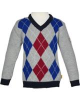 Steiff Pullover CLASSIC BLUE snow grey melange 6843627-8359