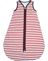 Steiff Sleeping bag AHOI BABY Streifen tango red 2012226-4008