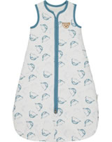 Steiff Sleeping bag BABY UNISEX ORGANIC adriatic blue 2012302-6045