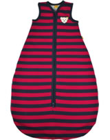 Steiff Sleeping bag LITTLE COUNTRY BOY blue/red stripe 6842560-0001