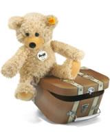 Steiff Schlenker-Teddybär Charly beige im Koffer 30cm 012938