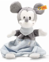 Steiff Comforter Mickey Mouse 29 cm grey/blue/white 290169