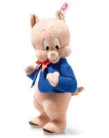 Steiff Schweinchen Dick 23 cm Mohair rose stehend 354496
