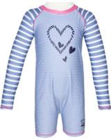 Steiff Schwimmanzug Badeoverall NAVY HEARTS forever blue 2014611-6027