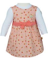 Steiff Set 2tlg. Kleid mit Body Langarm LITTLE PEACH allover 6912125-0003