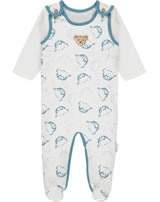 Steiff Romper and shirt BABY ORGANIC cloud dancer 2012318-1045