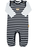 Steiff Romper and shirt BEAR CREW steiff navy 2012123-3032