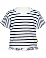 Steiff Shirt short sleeve AHOI BABY stripes steiff navy 2012239-3032