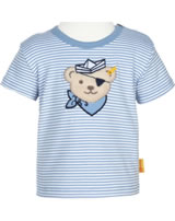 Steiff Shirt short sleeve BEAR CREW stripe forever blue 2012140-6027