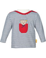 Steiff Shirt long sleeve AHOI BABY stripes steiff navy 2012240-3032