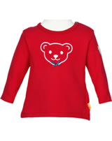 Steiff Shirt long sleeve AHOI BABY tango red 2012237-4008