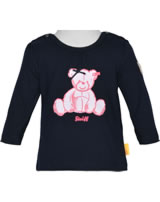 Steiff Shirt long sleeve BEAR IN MY HEART black iris 2011126-3032