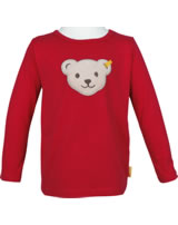 Steiff Shirt Squeaker long sleeve SEA BEAR tango red 2012432-4008