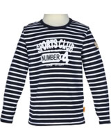 Steiff Shirt Langarm SPORTS CLUB marine gestreift 6833421-3032