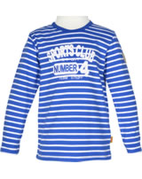 Steiff Shirt Langarm SPORTS CLUB strong blue gestreift 6833421-3083