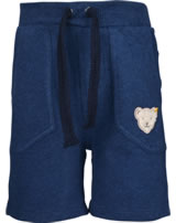 Steiff Sweat-Shorts MODERN MARITIME black iris 001912119-3032