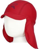 Steiff Sonnen-Mütze mit Schild NAVY HEARTS tango red 2014620-4008