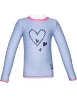Steiff Sonnenschutz-Shirt UV-Shirt NAVY HEARTS GIRL forever blue 2014610-6027
