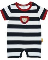 Steiff Romper short sleeve AHOI BABY steiff navy 2012233-3032