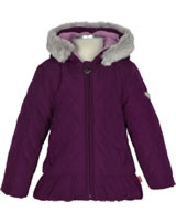 Steiff Jacket with hood FROSTED FLOWERS pickled beet 6843319-7044