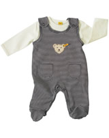 Steiff Romper suit with shirt BASIC marine 0006605-3032