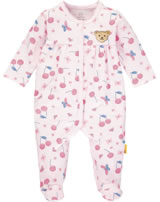 Steiff Romper BEAR AND CHERRY barely pink 2013205-2560
