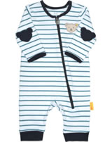 Steiff Romper BEAR BLUES stripes faience 2011220-6042