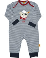 Steiff Romper long sleeve BOY LITTLE PIRAT marine 6832515-3032