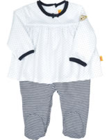 Steiff Romper DOTS & STRIPES Newborn Girl marine 6832821-3032