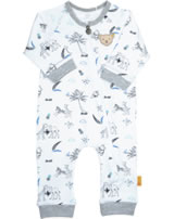 Steiff Strampler Langarm SAFARI BEAR bright white 2013130-1000