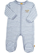 Steiff Romper WINTER GREY stripe 6842851-0001