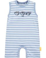 Steiff Romper short sleeve BEAR CREW forever blue 2012129-6027