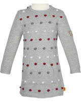 Steiff Dress long sleeve CLASSIC RED snow grey melange 6843218-8359