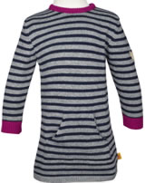 Steiff Dress long sleeve COLORFUL WINTER stripe 6843128-0001