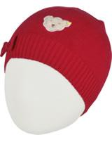 Steiff Strick-Mütze AHOI MINI! tango red 2012515-4008