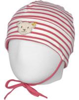 Steiff Jersey-Mütze BEAR IN MY HEART fruit dove 2011121-2203