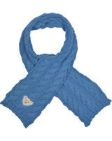 Steiff Strick-Schal BLUE STRIPE swedish blue 1922524-6034