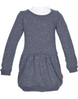 Steiff Dress long sleeve HELLO SPRING marine 6913048-3032