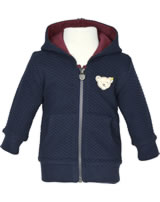 Steiff Sweatjacke m. Kapuze COSY BLUE patriot blue 1921314-6033